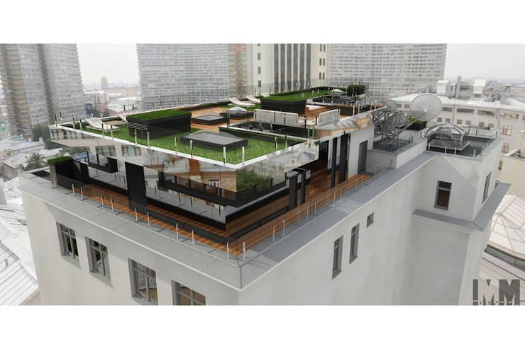 Чёрная лента: Дома в . Автор – ММ-design