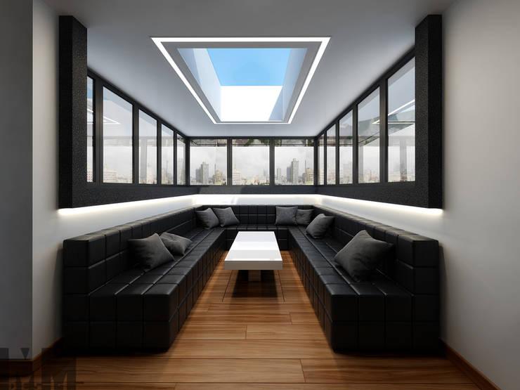 Чёрная лента: Медиа комнаты в . Автор – ММ-design