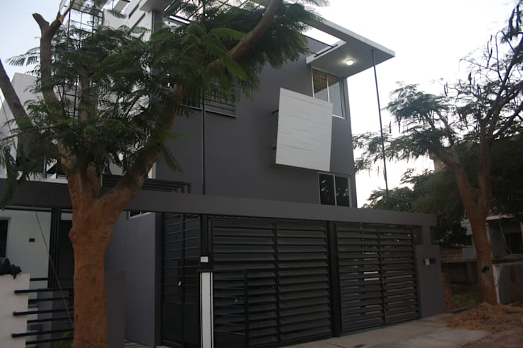 Front Elevation:  Houses by Ashwin Architects