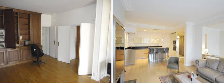 Appartement 3 pièces 85m2:  de style  par Créateurs d'interieur