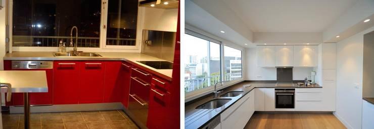 Appartement 4 pièces 95m2:  de style  par Créateurs d'interieur