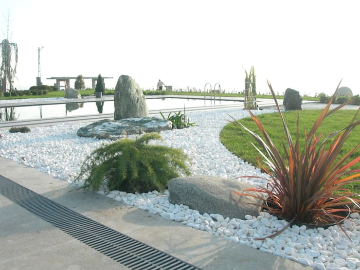 Bahce Tasarim의  정원