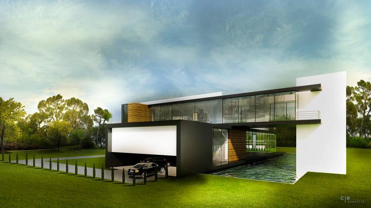 CO Mimarlık Dekorasyon İnşaat ve Dış Tic. Ltd. Şti. – C.S. EVİ:  tarz Evler