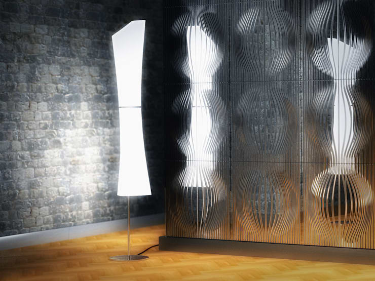 Optics Wall Panels:   by Mirror Fabbrica