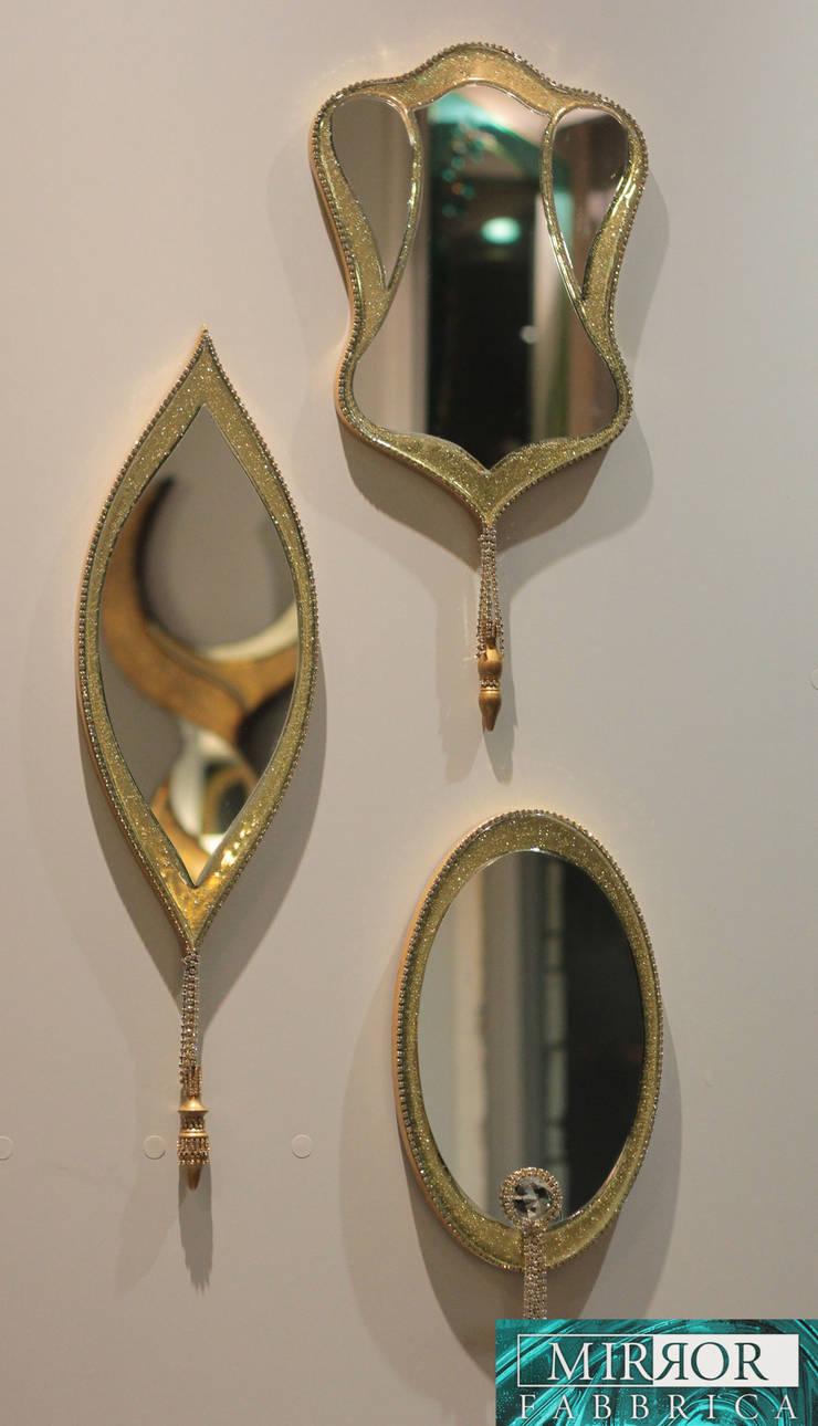 Custom Designed Column Mirrors:   by Mirror Fabbrica