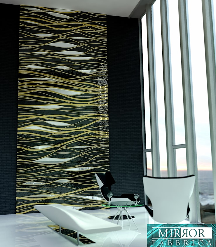 Wall Covering Panels:   by Mirror Fabbrica