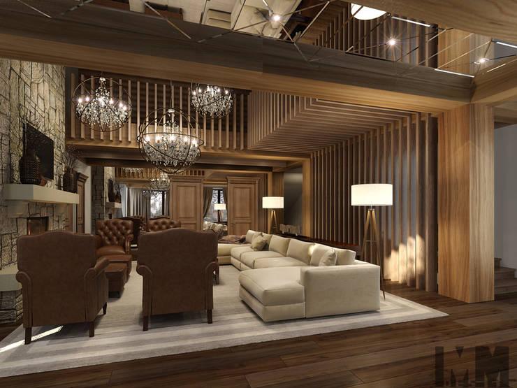 ММ-design:  tarz Oturma Odası