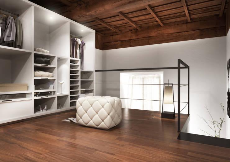 Interior Visualization: Spogliatoio in stile  di 3DCanva