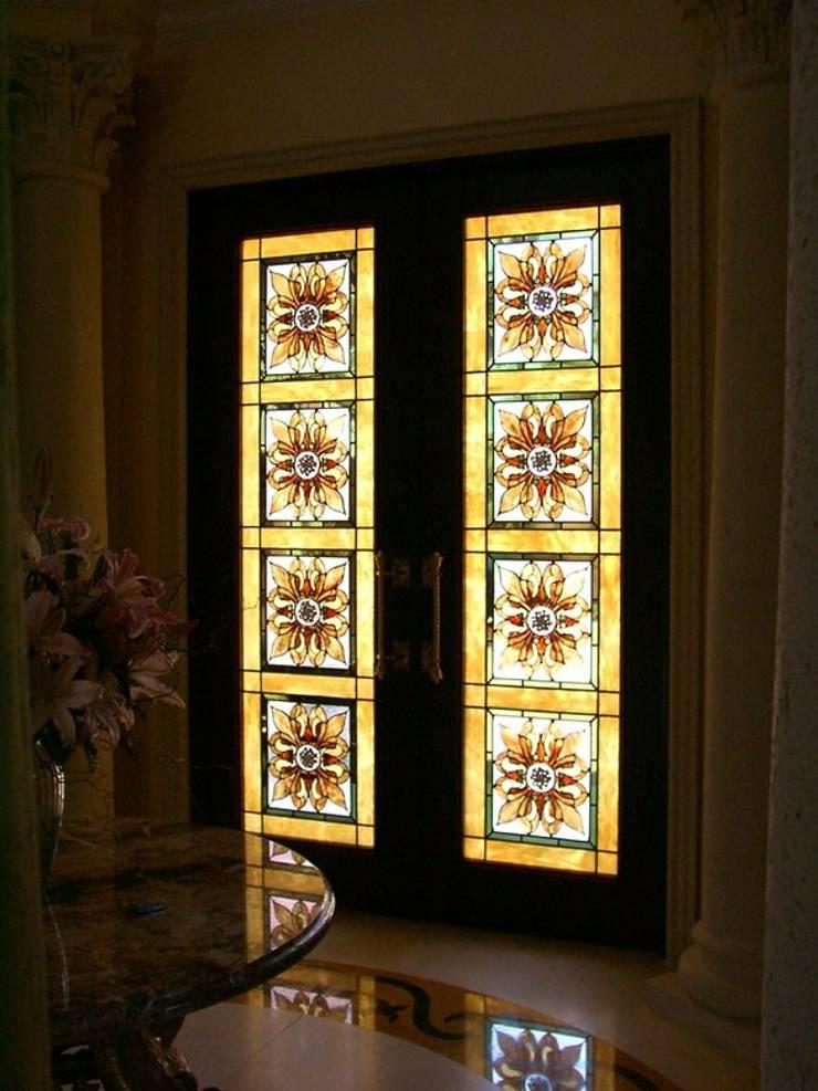 berkart vitray – villa kapı:  tarz İç Dekorasyon