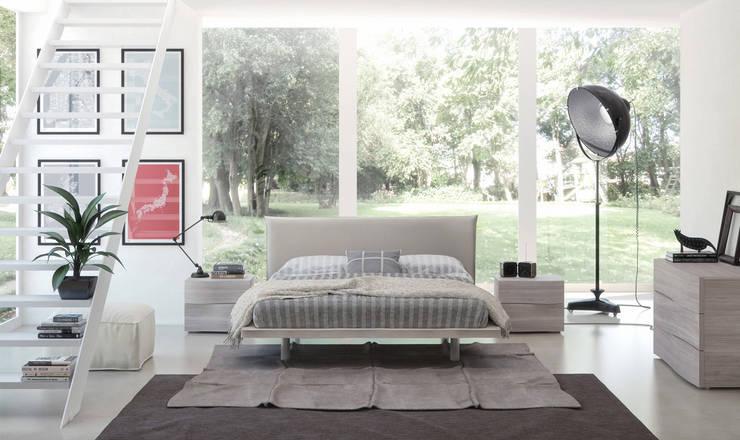Projekty,  Sypialnia zaprojektowane przez Kreative Point s.n.c
