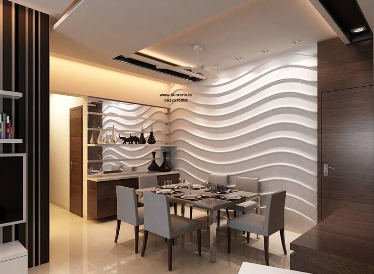 minimalistic Living room by RK Design Studio
