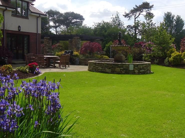 Jardins campestres por Kevin Cooper Garden Design