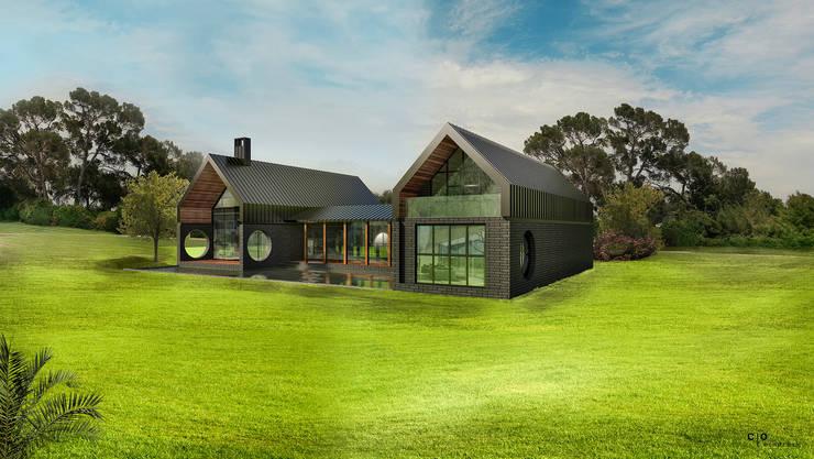 CO Mimarlık Dekorasyon İnşaat ve Dış Tic. Ltd. Şti. – M.G. Evi:  tarz Evler, Modern