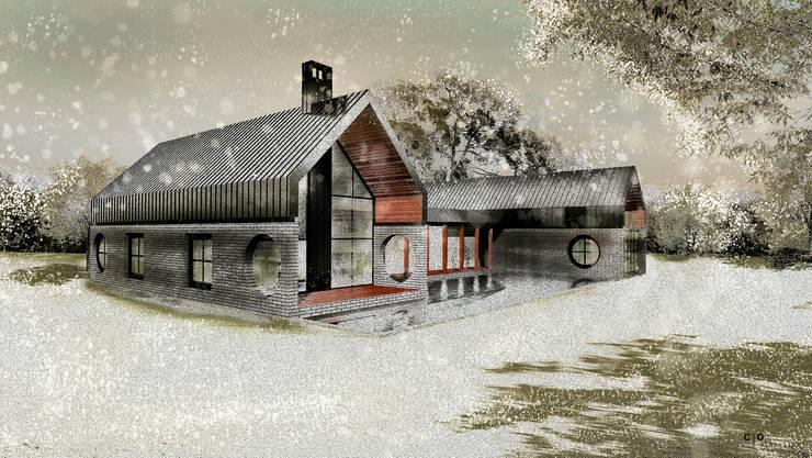 CO Mimarlık Dekorasyon İnşaat ve Dış Tic. Ltd. Şti. – M.G. Evi: modern tarz Evler