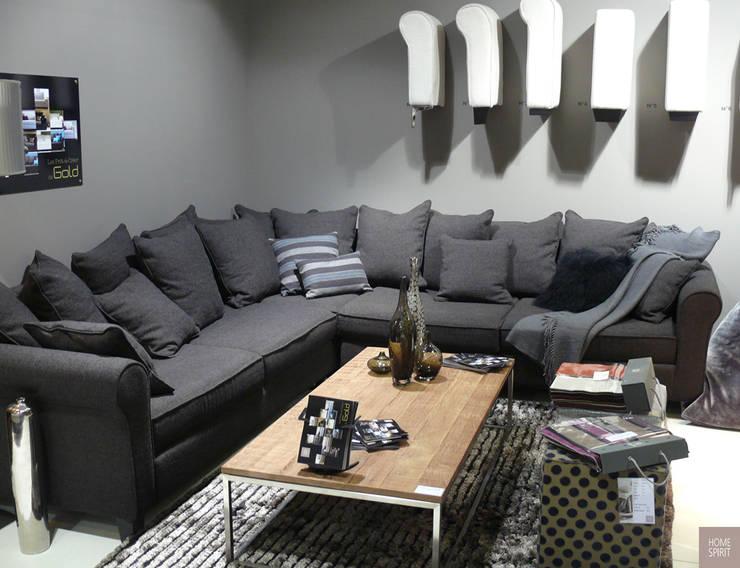 Canapé en L en multi-dossiers: Salon de style  par Canapé Inn