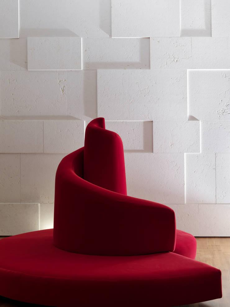 Horizontal Space: Case in stile  di Damilano Studio Architects