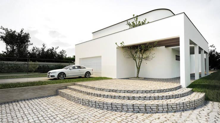 Dom : Willa: styl , w kategorii Domy zaprojektowany przez Libido Architekci,Nowoczesny