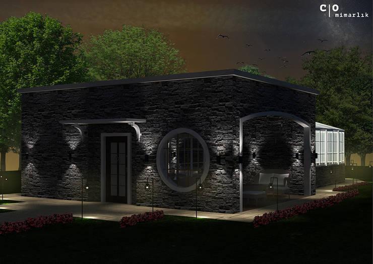 CO Mimarlık Dekorasyon İnşaat ve Dış Tic. Ltd. Şti. – N.G. Kır evi:  tarz Evler