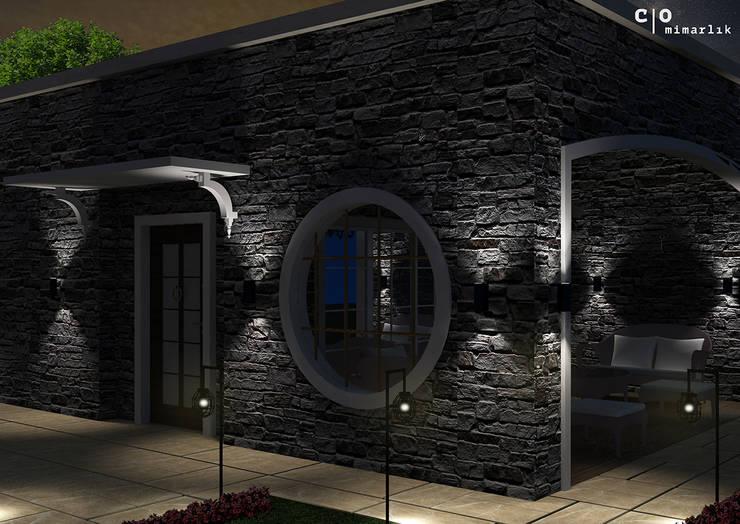 CO Mimarlık Dekorasyon İnşaat ve Dış Tic. Ltd. Şti. – N.G. Kır evi:  tarz Evler, Modern