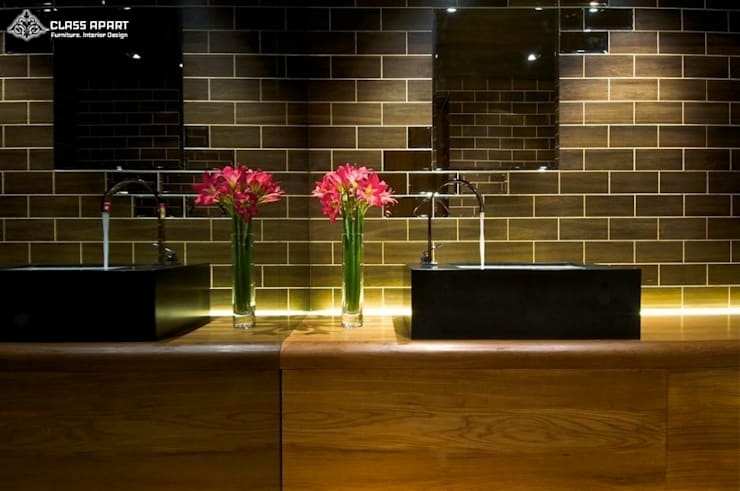 LUXURIOUS APARTMENT :   by CLASS APART (furniture.interiordesign)