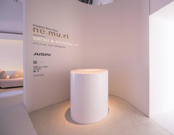 AISIN_ ne.mu.ri, by Setsu & Shinobu Ito  Imagine New Days:  in stile  di SETSU & SHINOBU ITO STUDIO I.T.O. DESIGN,