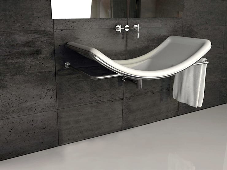 Lavabo S: Bagno in stile  di DiciannoveDieciDesign