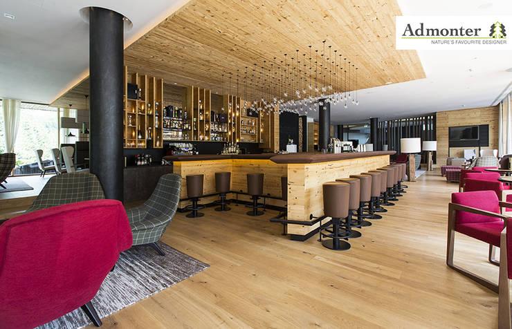 Admonter im Falkensteiner Hotel Schladming:  Wände & Boden von Admonter Holzindustrie AG