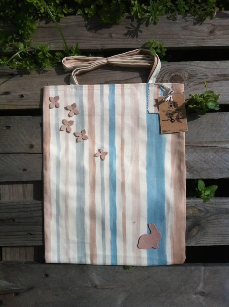 fingerscrossed – Rabbit in Stripe Bez Çanta:  tarz Ev İçi