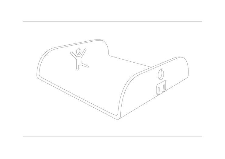 YinYang – Try | RARO Design Collection:  in stile  di Roberto Nicolò, Eclettico
