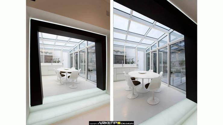 APPARTAMENTO <q>A</q> , Milano (MI) Italy:  in stile  di ARKETIPO DESIGN, Minimalista