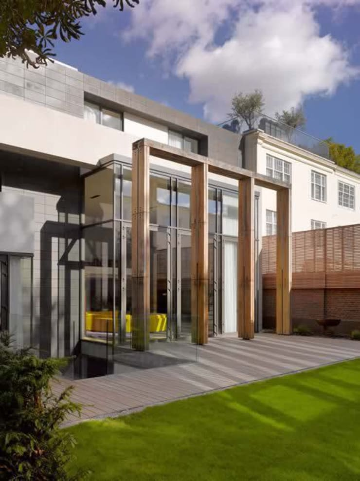 Abbey Road, St Johns Wood:  Houses by Alan Higgs Architects