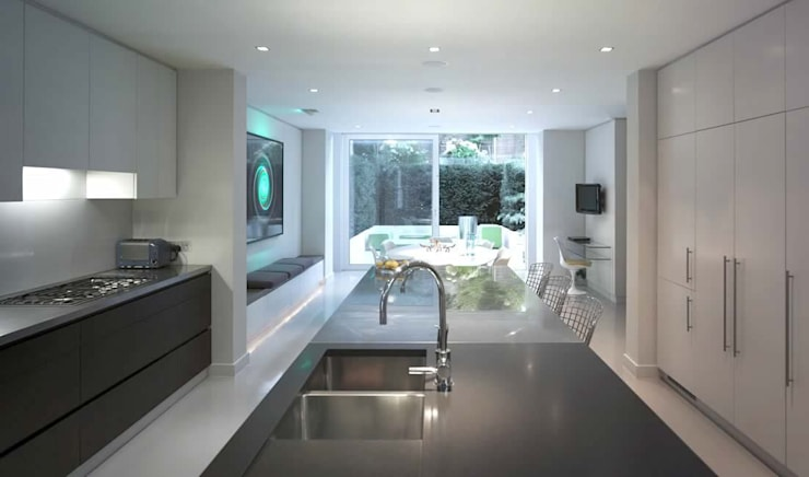 Portland Road, Holland Park:  Houses by Alan Higgs Architects