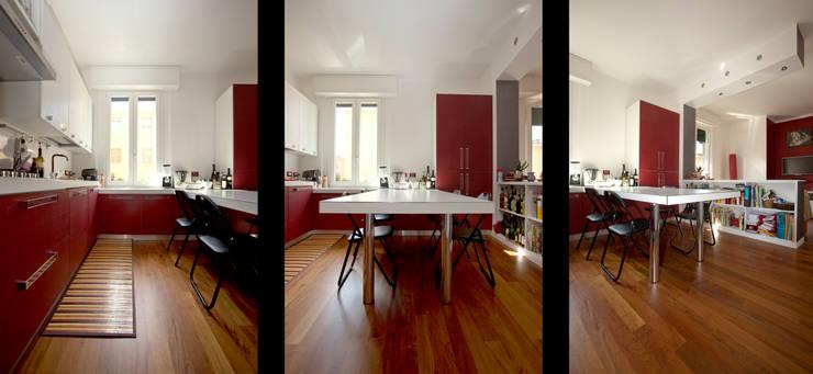 Zona giorno: Case in stile  di BRENSO Architecture & Design