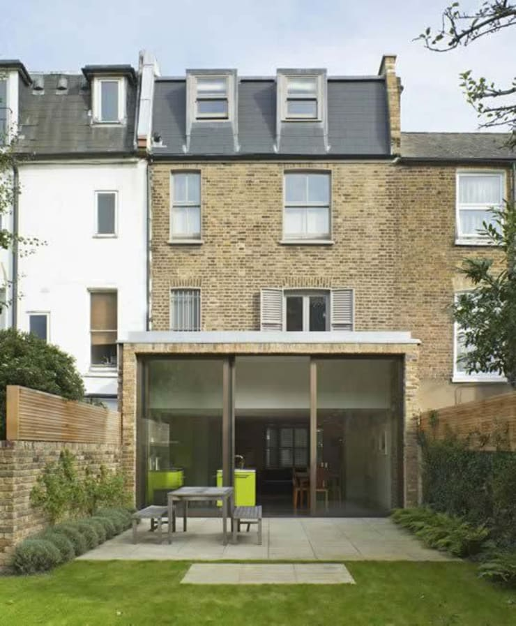 Godolphin Road, Shepherds Bush:  Houses by Alan Higgs Architects