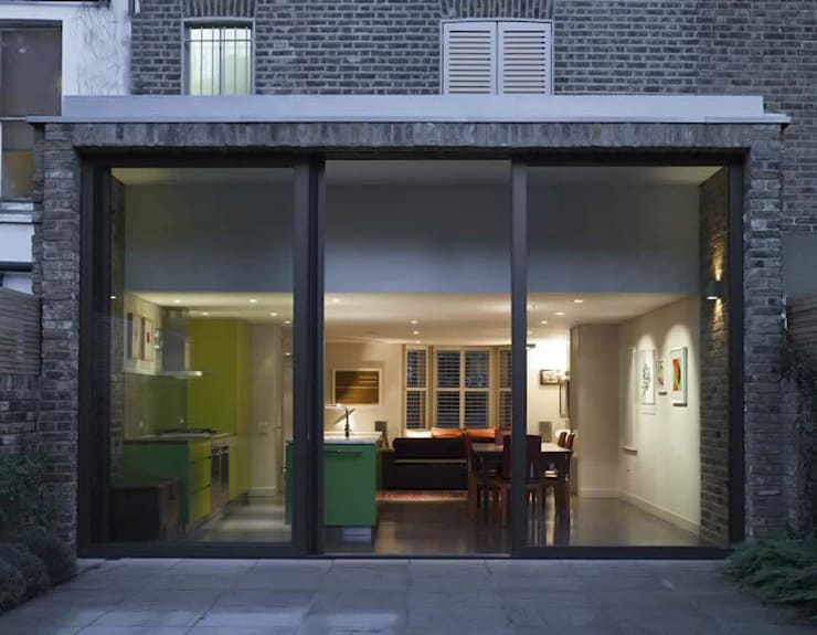 Godolphin Road, Shepherds Bush:  Houses by Alan Higgs Architects