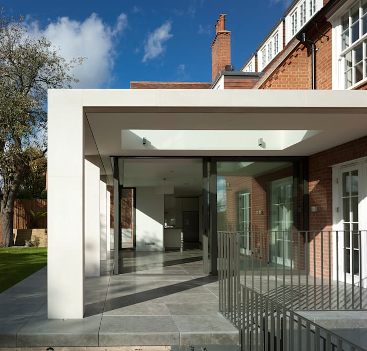 Hollycroft Avenue, Hampstead:  Houses by Alan Higgs Architects