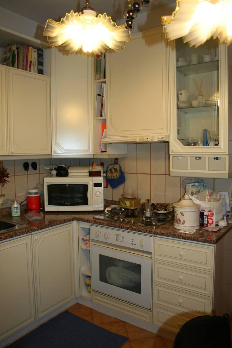 La cucina, prima:  in stile  di STUDIO PAOLA FAVRETTO SAGL - INTERIOR DESIGNER