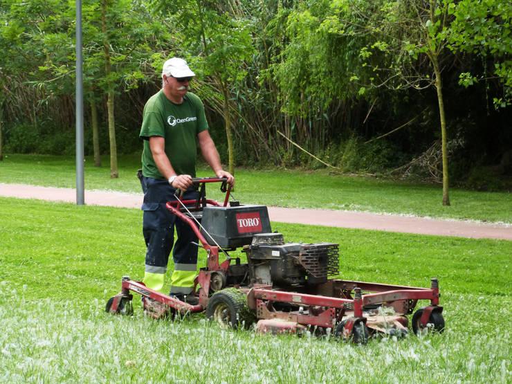 Parque da Barquinha: Jardins  por OpenGreen