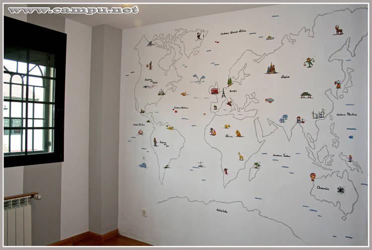 Nursery/kid's room by CAMPU.NET