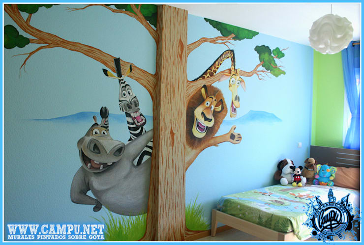 Nursery/kid's room by CAMPU.NET