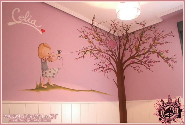 Chambre d'enfant de style  par CAMPU.NET