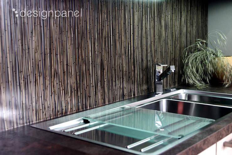 INVISION – Transparente Paneele mit eingelegten Materialien:   von Designpanel - Elements for innovative architecture,Asiatisch