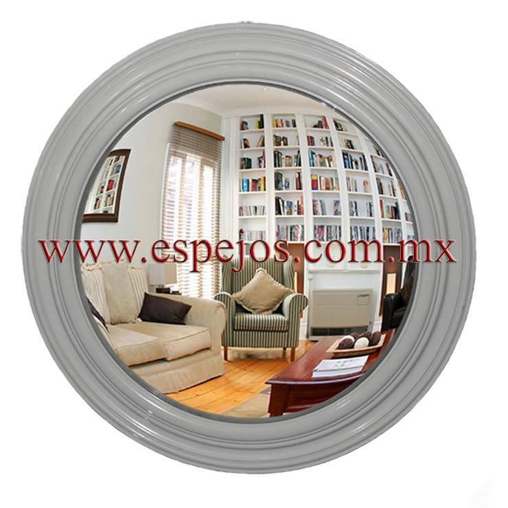 Espejo Convexo Decorativo : Hogar de estilo  por Ingenieria en Espejos MX S de RL de CV