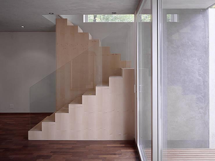 Casa sulla Roccia:  in stile  di Buzzi studio d'architettura