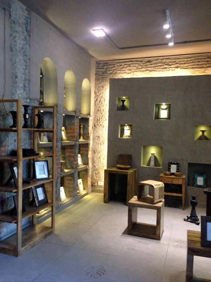 Office spaces & stores  by kalakshetra designs
