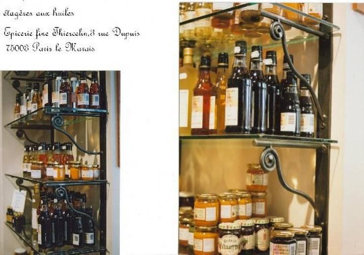 ÉPICERIE FINE THIERCELIN PARIS: Locaux commerciaux & Magasins de style  par ATELIER MACHLINE