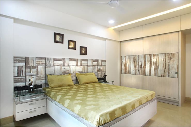 Bedroom:  Bedroom by Squaare Interior