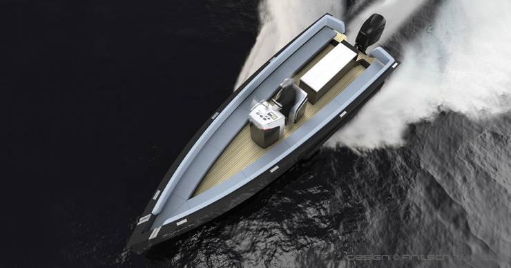 Iguana Yachts – IG 29:  de style  par FRITSCH-DURISOTTI