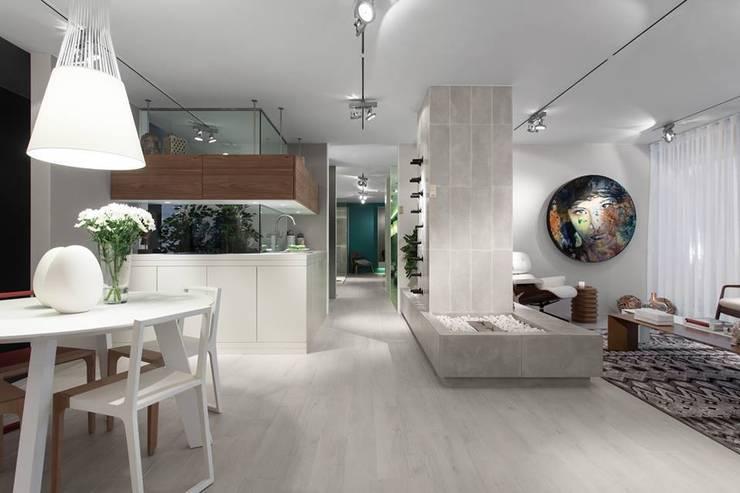 BE - Loft: Salas de jantar  por Ana Rita Soares- Design de Interiores