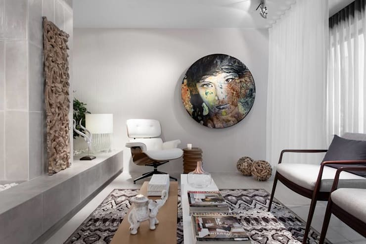 BE – Loft: Salas de jantar  por Ana Rita Soares- Design de Interiores